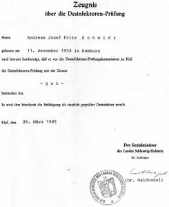Desinfektor - Tatortreinigung - Desinfektion