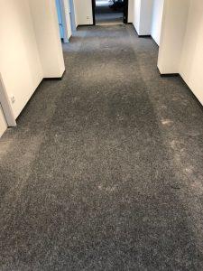Vor der Teppichbodenreinigung - Hamburg