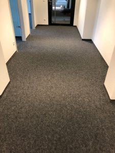 Nach der Teppichbodenreinigung - Hamburg